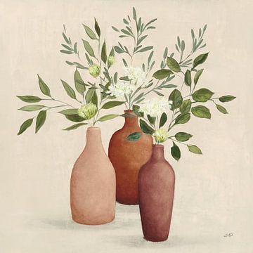 Natural Bouquet II Light, Julia Purinton van Wild Apple