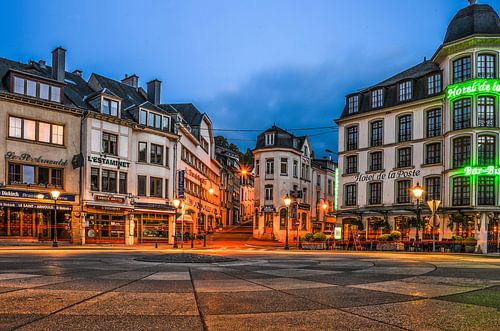 Bouillon by night: Place Saint-Arnould van