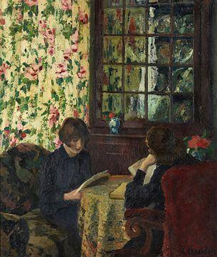 Ernst Oppler-Kinder Lesen