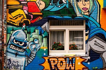 Straßenkunst und Kunsthandwerk von Ton de Koning