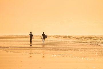 Surf, zee en strand Ameland van Nicole Nagtegaal