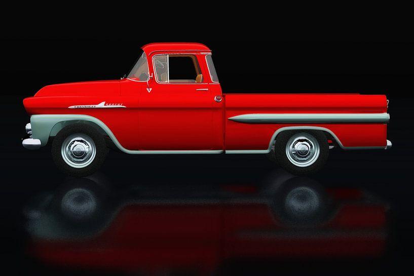 Chevrolet Apache 1959 Vue latérale sur Jan Keteleer