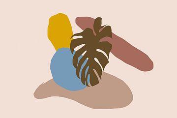 Abstract art - camel desert 23 Oasis
