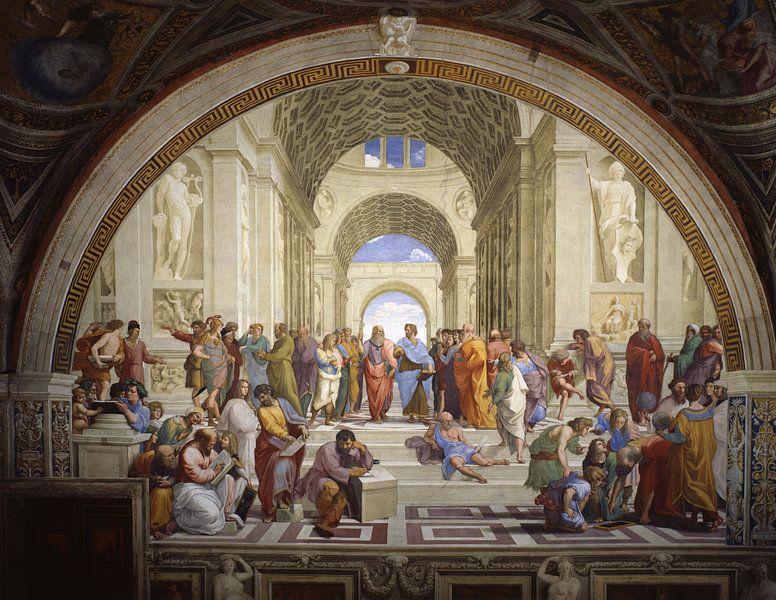 Die Schule von Athen, Raffael von Meesterlijcke Meesters