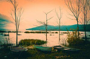 Peten Itza meer in Guatemala