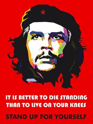 Pop Art Che Guevara van Jan Willem van Doesburg