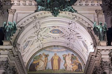 Der Haupteingang zum Berliner Dom von Peter Bartelings Photography