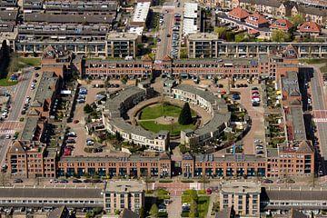 Burchtplein, Leyhof, Leiderdorp van