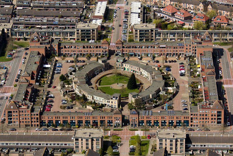 Burchtplein, Leyhof, Leiderdorp van Meindert van Dijk