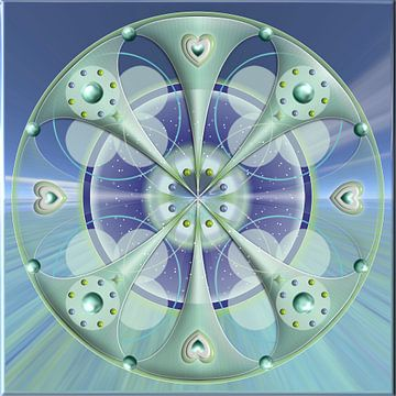 Mandala healing master Heolan