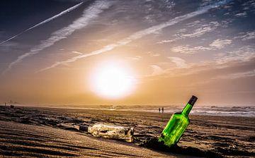Landschap kust sur peter van der pol
