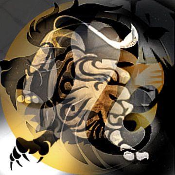 Sterrenbeeld Leeuw van Kirsti's Kunst