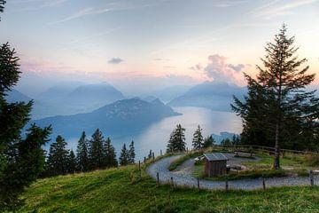 Rigi Zwitserland von Frans Bouvy