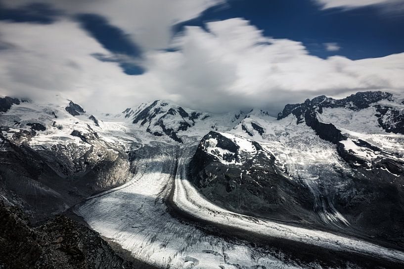 View from the Gornergrat van Cho Tang