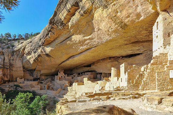 Cliff Palace, Mesa Verde National Park van Roel Ovinge