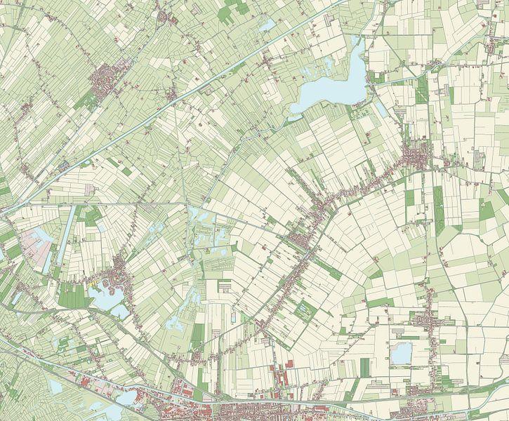 Kaart vanSlochteren