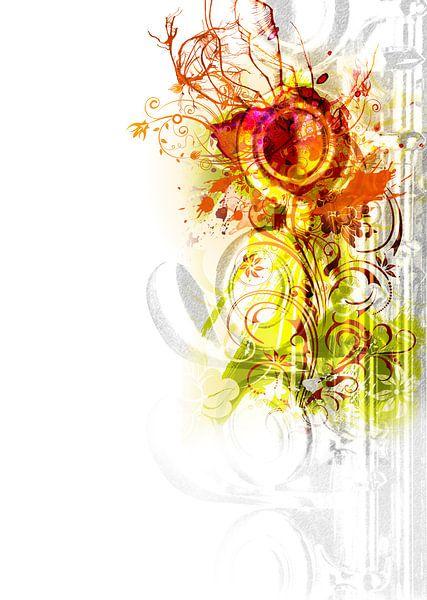 Flute #2 van Peter Baak