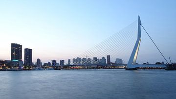 Skyline Rotterdam van Fayola Henderikse