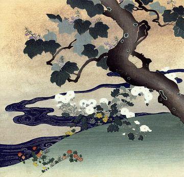 Boom en chrysanten, Tsukioka Kôgyo