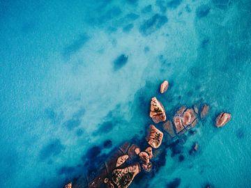 De rots in de zee van Karl Große