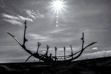 Vikingschip - Reykjavik von Ralf Linckens