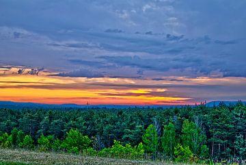 Sonnenaufgang Brombachsee von Roith Fotografie