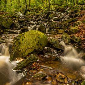 Watervallen in de Ardennen van Bert Beckers