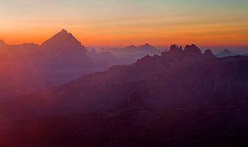 Dolomieten Alpen van Frank Peters