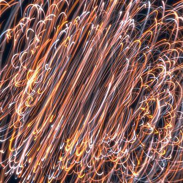 Roterende lichten 4 van Jörg Hausmann