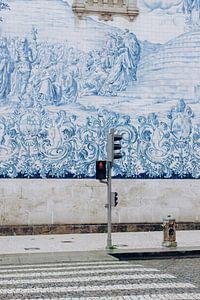 De beroemde tegels in Porto van