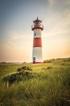 Leuchtturm List-Ost auf der Ellenbogen-Halbinsel, Sylt von Christian Müringer