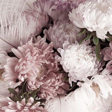 Blumenstrauß der Astern von arjan doornbos