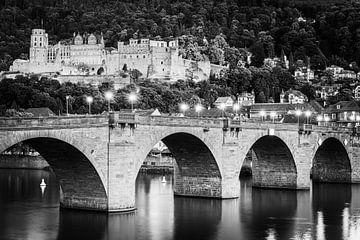 Kasteel Heidelberg in zwart-wit van Henk Meijer Photography