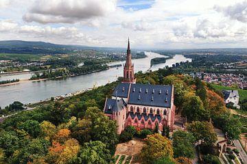 Chapelle St. Rochus, Bingen sur le Rhin (08.2020) sur menard.design - (Luftbilder Onlineshop)