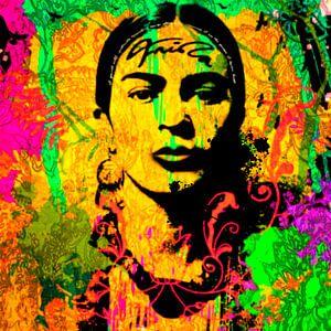 Frida Kahlo enjoy the paradise
