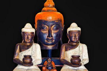Buddha Compositie van Eduard Lamping