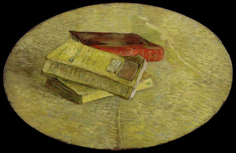 Vincent van Gogh. Drie boeken, 1887 van 1000 Schilderijen