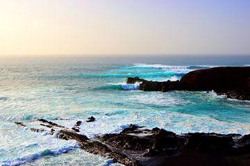 Blauwe zee van Dustin Musch