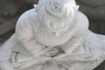 marmeren boeddha van Affectfotografie