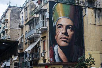 Napels- streetart van Bianca Boogerd