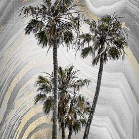 MODERNE KUNST Palmenidyll von Melanie Viola