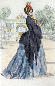 Fashion 1873, Women's fashion in nineteenth-century Paris, Henri Boutet, (1851 1919) sur