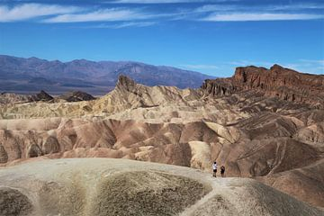 Die Mondlandschaft des Death Valley, Vereinigte Staaten von Wouter van der Ent