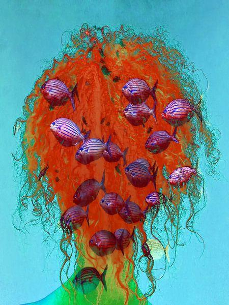 Thinking of the underwater world van Gabi Hampe