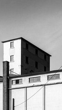 Geometrisch gebouw van Thomas Procek