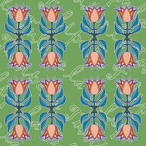 La Tulipe dans sa texte sur