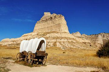 Huifkar op de Prairie van Adelheid Smitt