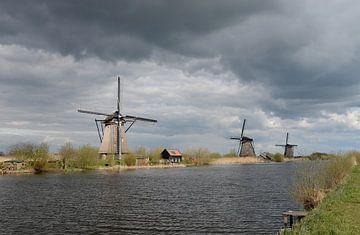 Windmolens bij Kinderdijk: Unesco Werelderfgoed van Koolspix