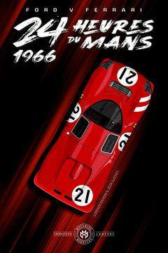 24 Heures du Mans 1966, Lorenzo Bandini von Theodor Decker