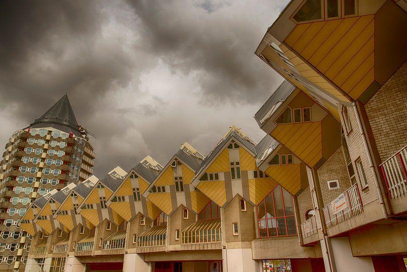De Kubuswoningen in Rotterdam. van Don Fonzarelli